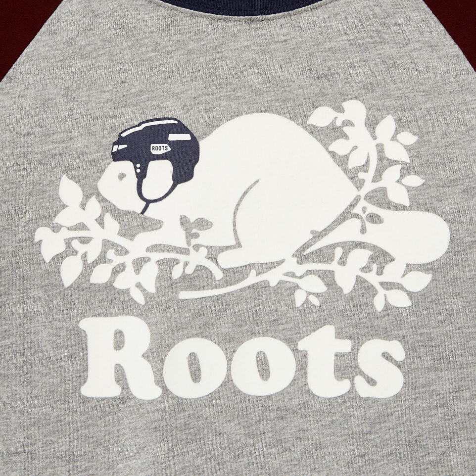 Roots-undefined-Boys Hockey Buddy Raglan T-shirt-undefined-D
