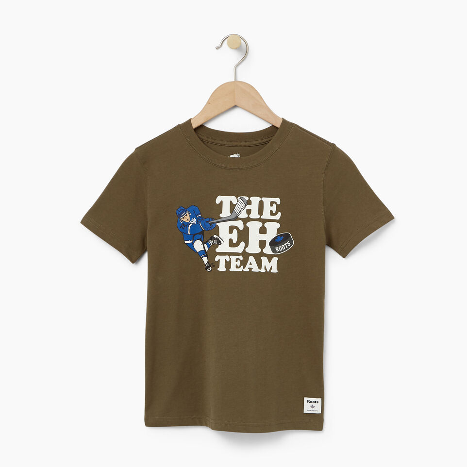 Roots-undefined-Boys Eh Team T-shirt-undefined-A