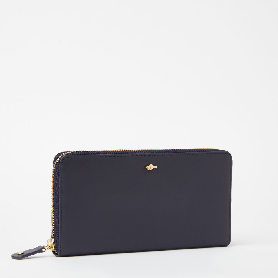 Roots-undefined-Pochette Glissière Cuir Bridle-undefined-D
