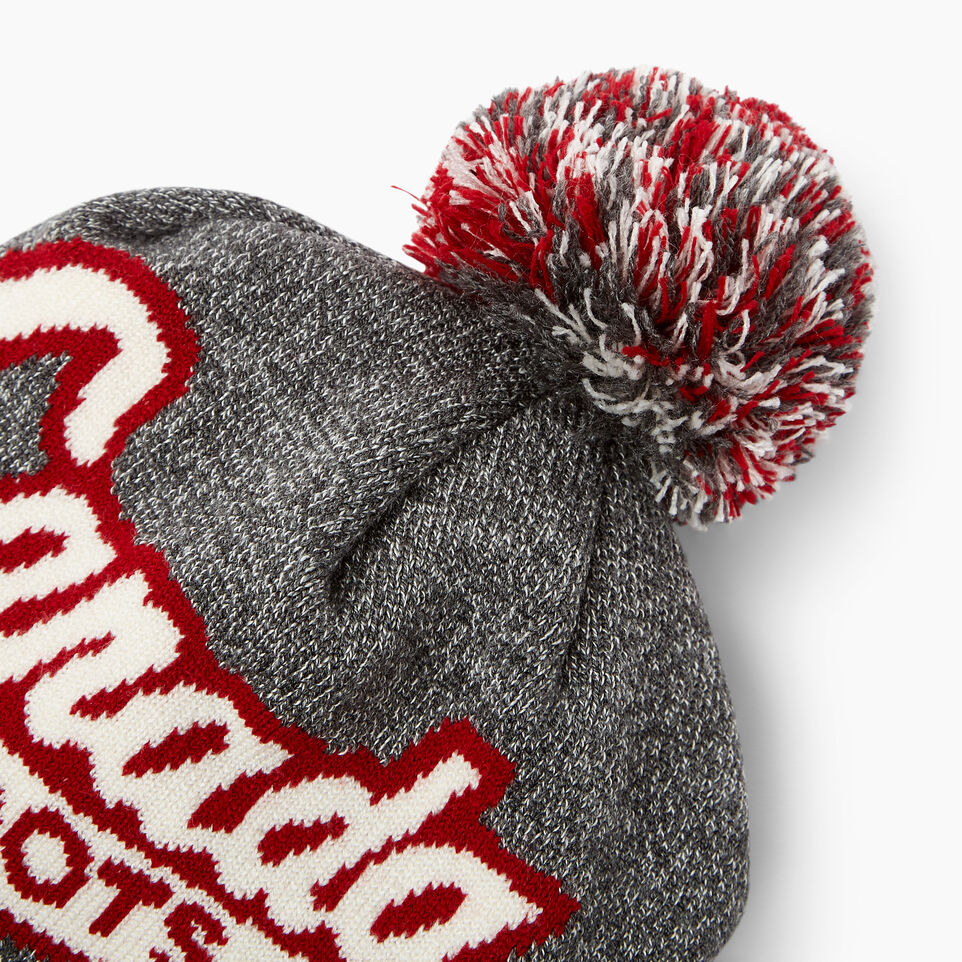 Roots-New For June Canada Collection By Roots™-Canada Pom Pom Toque-Salt & Pepper-D
