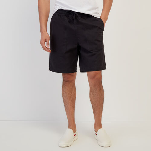 Roots-Men New Arrivals-Journey Short-Dark Grey-A