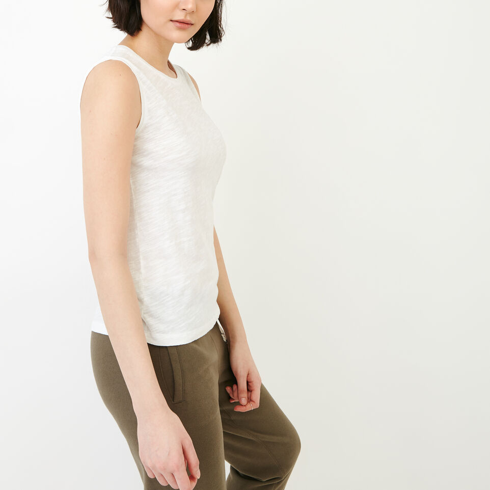 Roots-Women Our Favourite New Arrivals-Lorne Muscle Tank Top-White-C