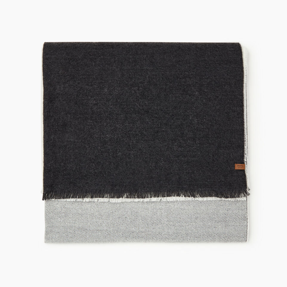 Roots-Sale Women-Arnaud Scarf-Charcoal Mix-B