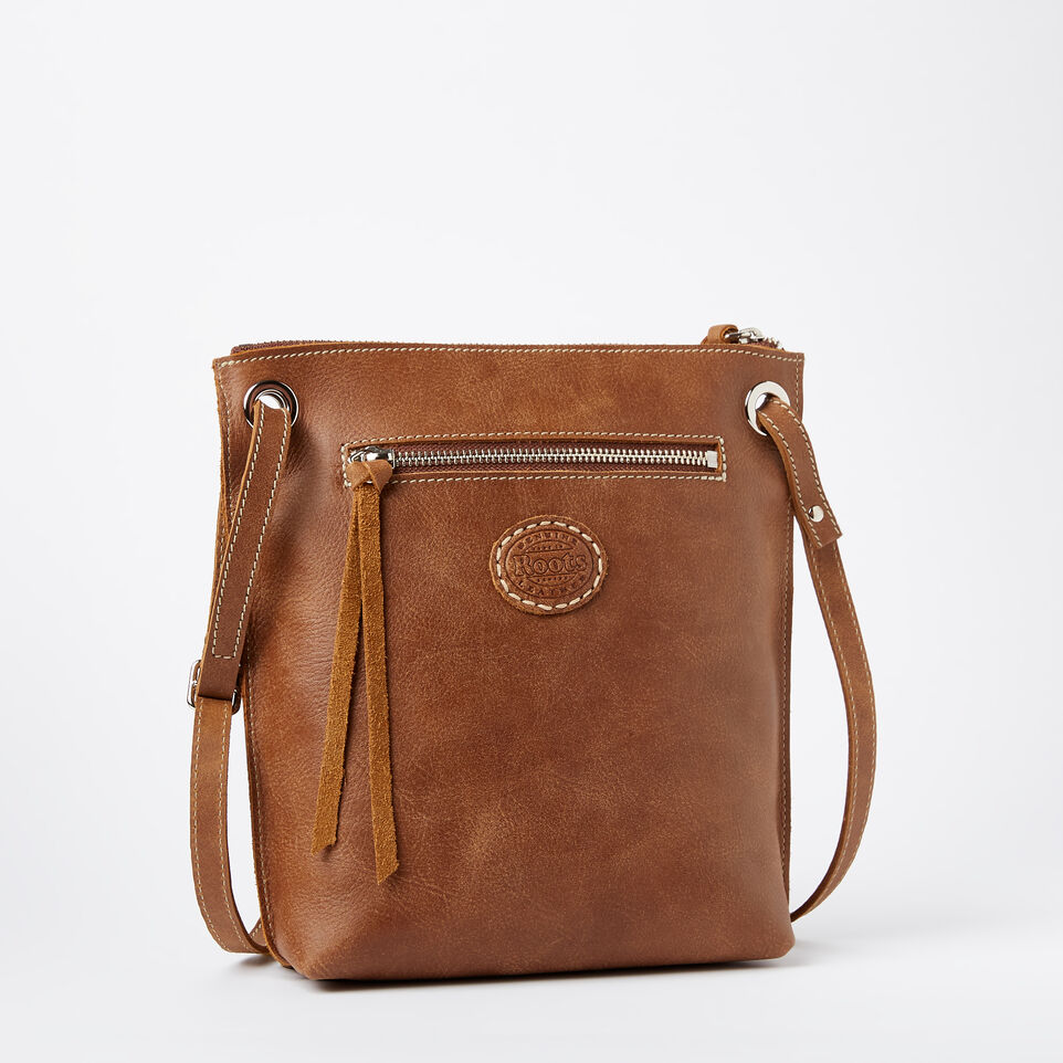 Roots-Leather  Handcrafted By Us Handbags-Festival Bag Tribe-Natural-C