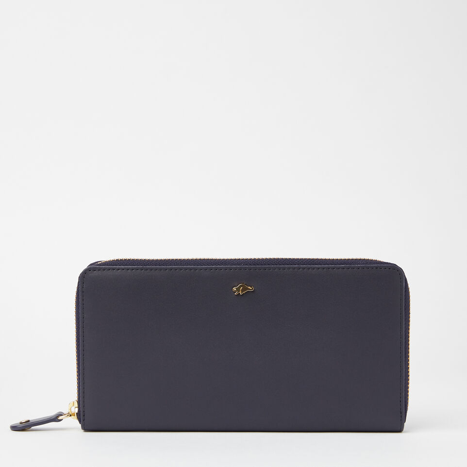 Roots-undefined-Pochette Glissière Cuir Bridle-undefined-A
