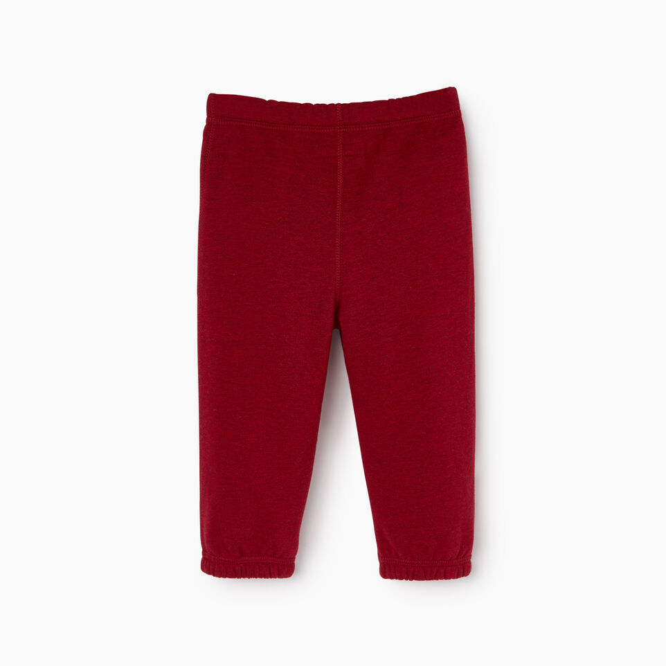Roots-New For December Kids-Baby Laurel Sweatpant-Cabin Red Mix-B
