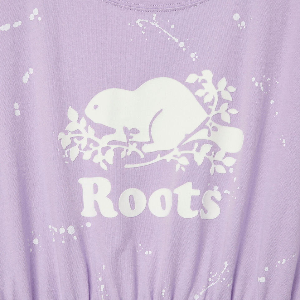 Roots-Kids Our Favourite New Arrivals-Girls T-shirt Dress-Lavendula-D