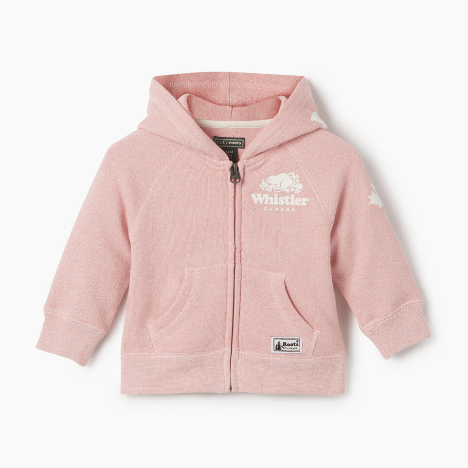 Roots-undefined-Baby Girl Whistler Full Zip Hoody-undefined-A