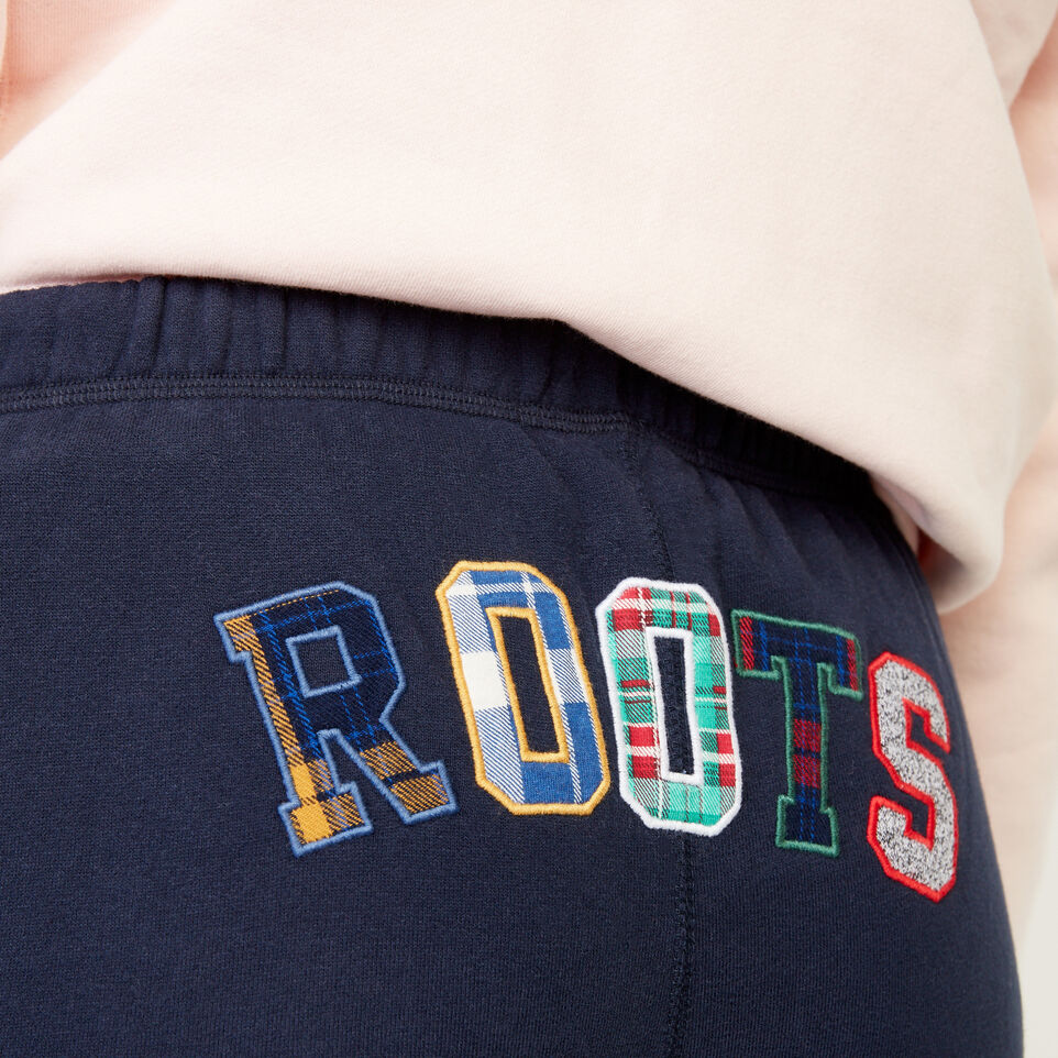 Roots-undefined-Roots Applique Sweatpant-undefined-E