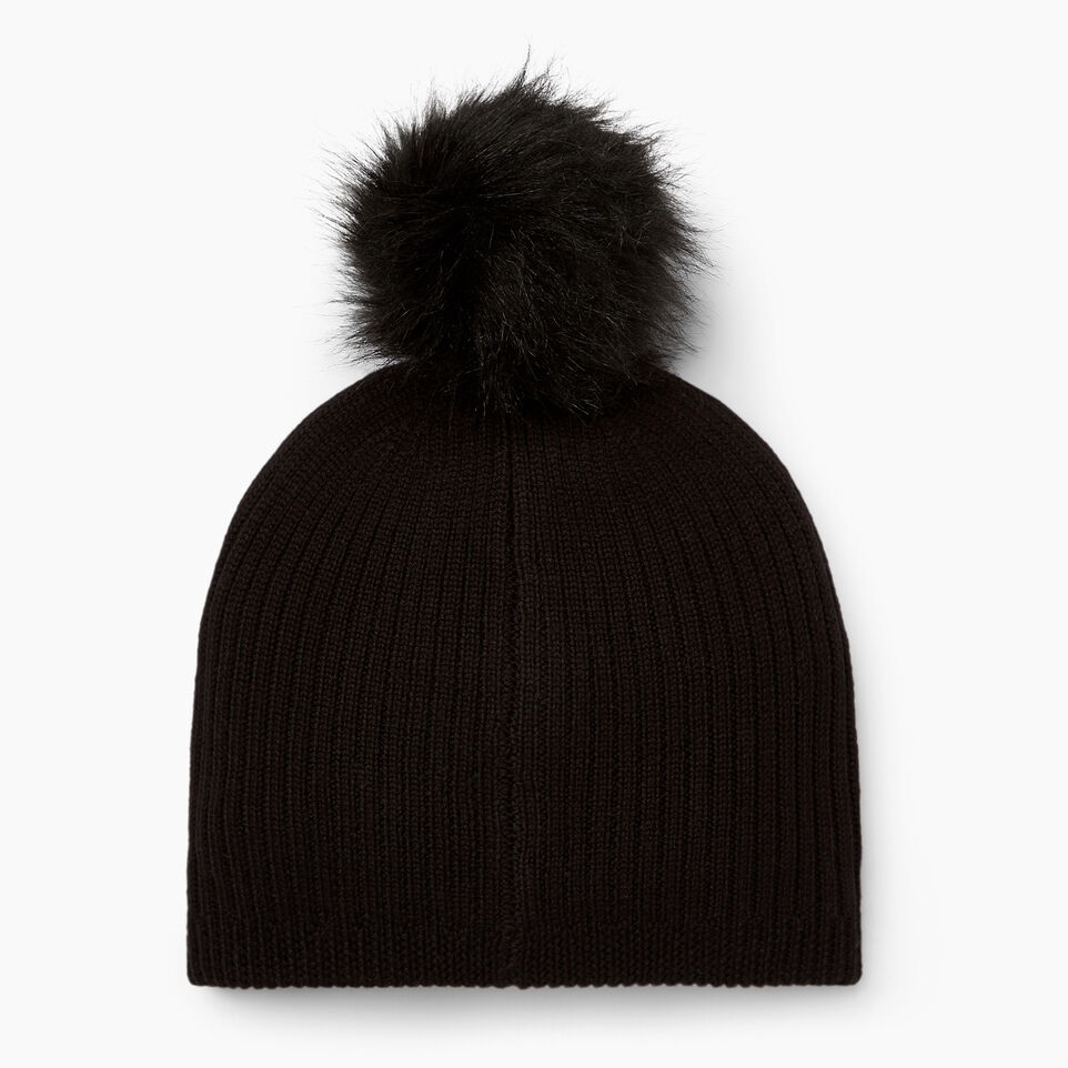 Roots-undefined-Dorval Faux Fur Pom Pom Toque-undefined-C