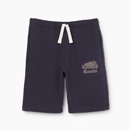 Roots-Kids New Arrivals-Boys Original Short-Graphite-A