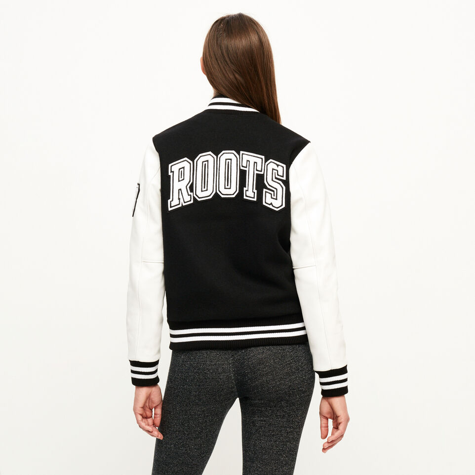 Roots-undefined-Blouson style universitaire rétro-undefined-D