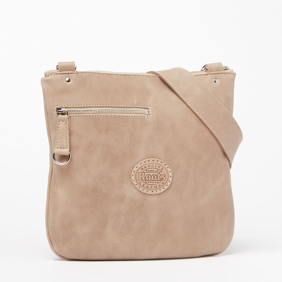 Roots-Leather Handbags-Side Saddle Tribe-Sand-C