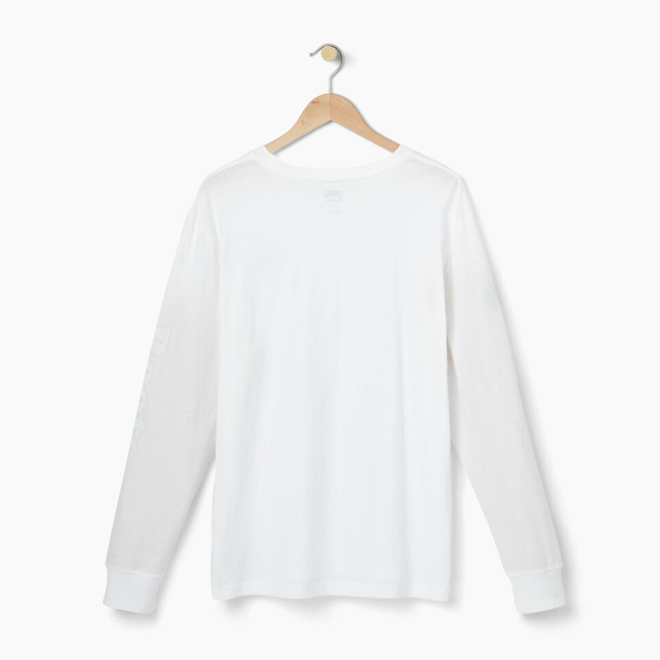 Roots-Men Our Favourite New Arrivals-Mens Cooper Remix Long Sleeve T-shirt-White-B