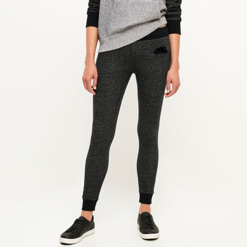Roots-New For October Skinny Sweatpants-Cozy Fleece Skinny Sweatpant-Black Pepper-A
