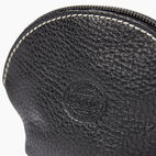 Roots-Women Leather Accessories-Small Euro Pouch-Black-D