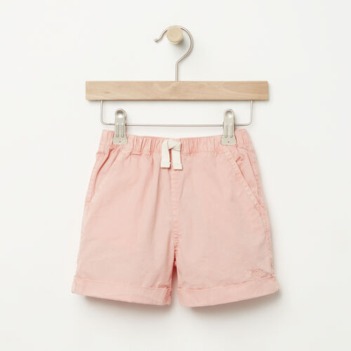Roots-Kids Bottoms-Toddler Pull On Short-Blossom Pink-A