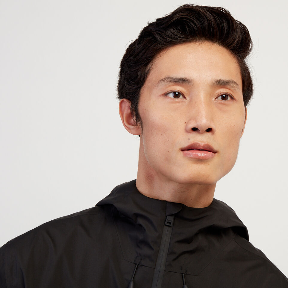 Roots-New For February Journey Collection-Journey Rain Jacket-Black-E