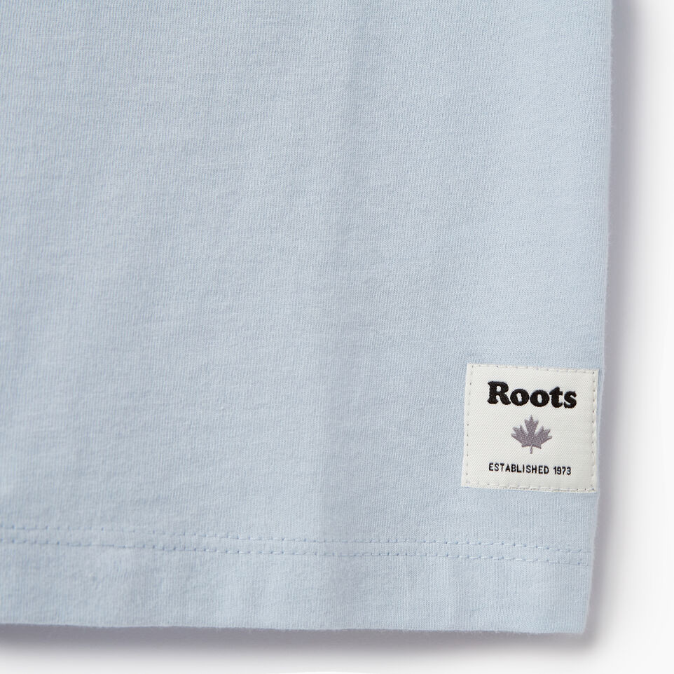 Roots-Kids Our Favourite New Arrivals-Girls Roots Outdoors T-shirt-Skyway-C