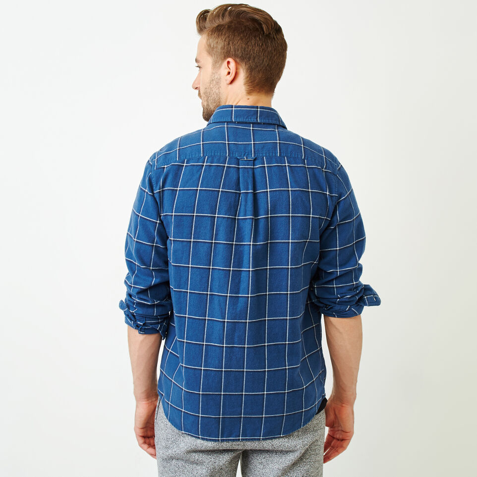 Roots-undefined-Lightweight Flannel Shirt-undefined-D
