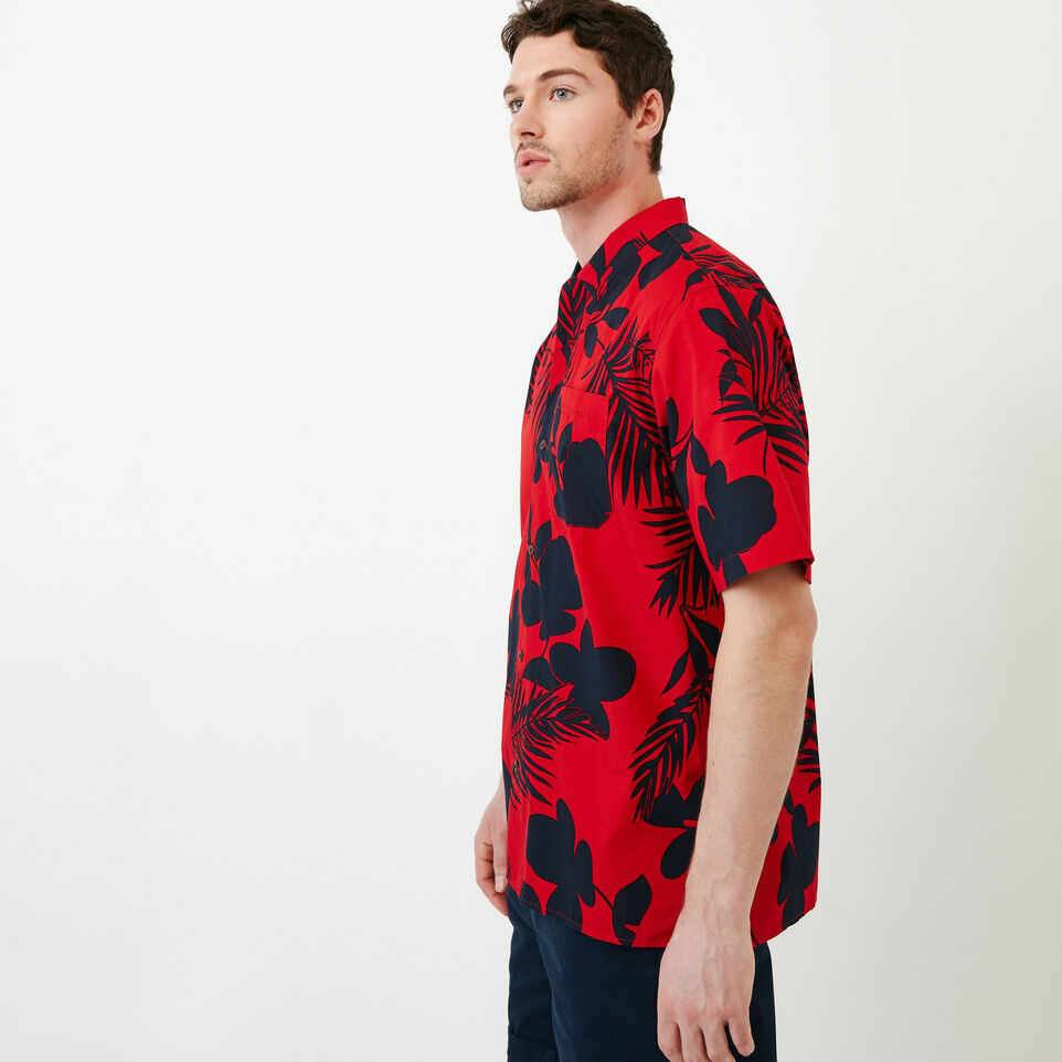 Roots-Men Our Favourite New Arrivals-Alder Flat Shirt-Racing Red-C