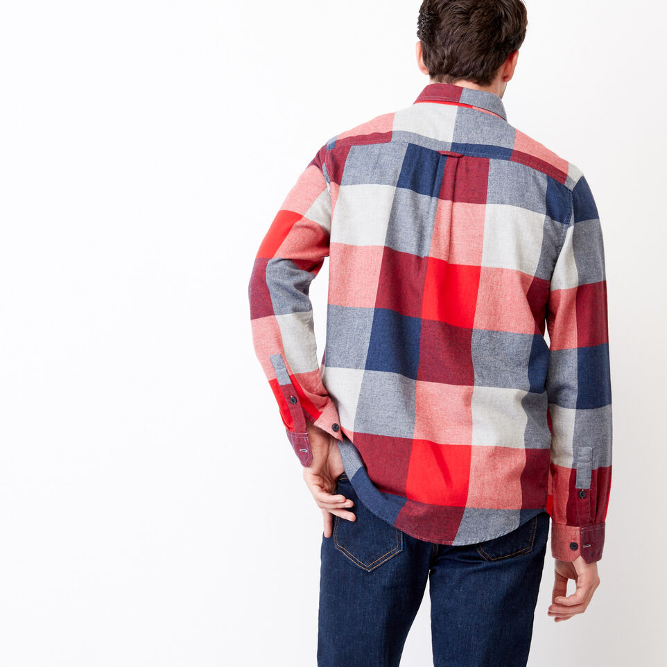 Roots-undefined-Redrock Flannel Shirt-undefined-D