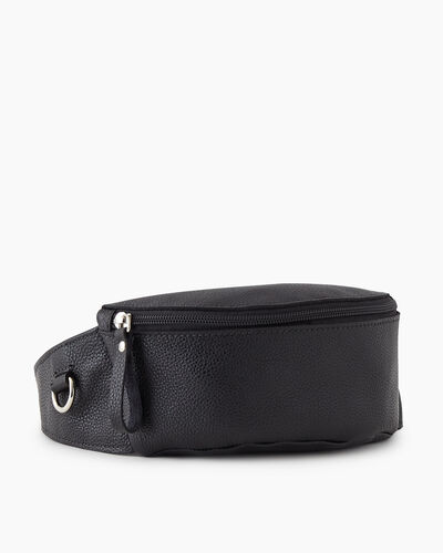 Roots-Leather New Arrivals-Small Belt Bag Cervino-Black-A