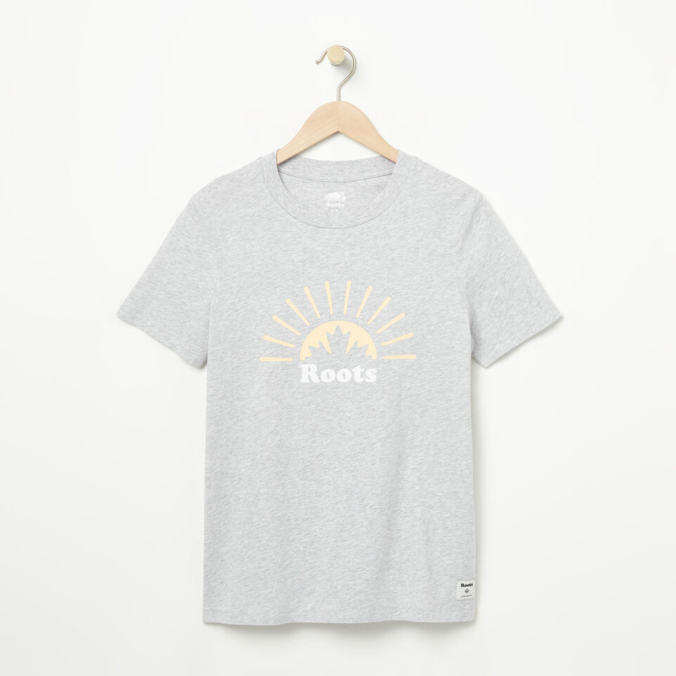 Roots-undefined-Womens Rising Sun T-shirt-undefined-A