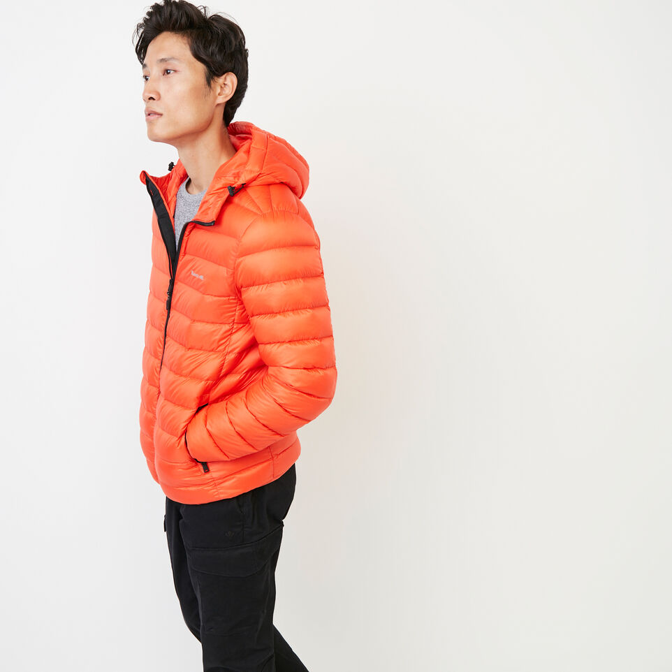 Roots-Men Our Favourite New Arrivals-Roots Packable Down Jacket-Spicy Orange-C