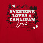 Roots-Kids New Arrivals-Baby Canadian Girl T-shirt-Sage Red-C
