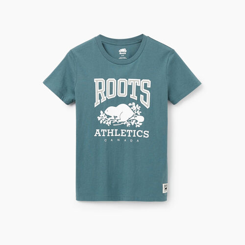 Roots-New For February Rba Collection-Womens RBA T-shirt-North Atlantic-A