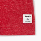 Roots-New For July Men-Mens Canada Cabin Ringer T-shirt-Sage Red Mix-C