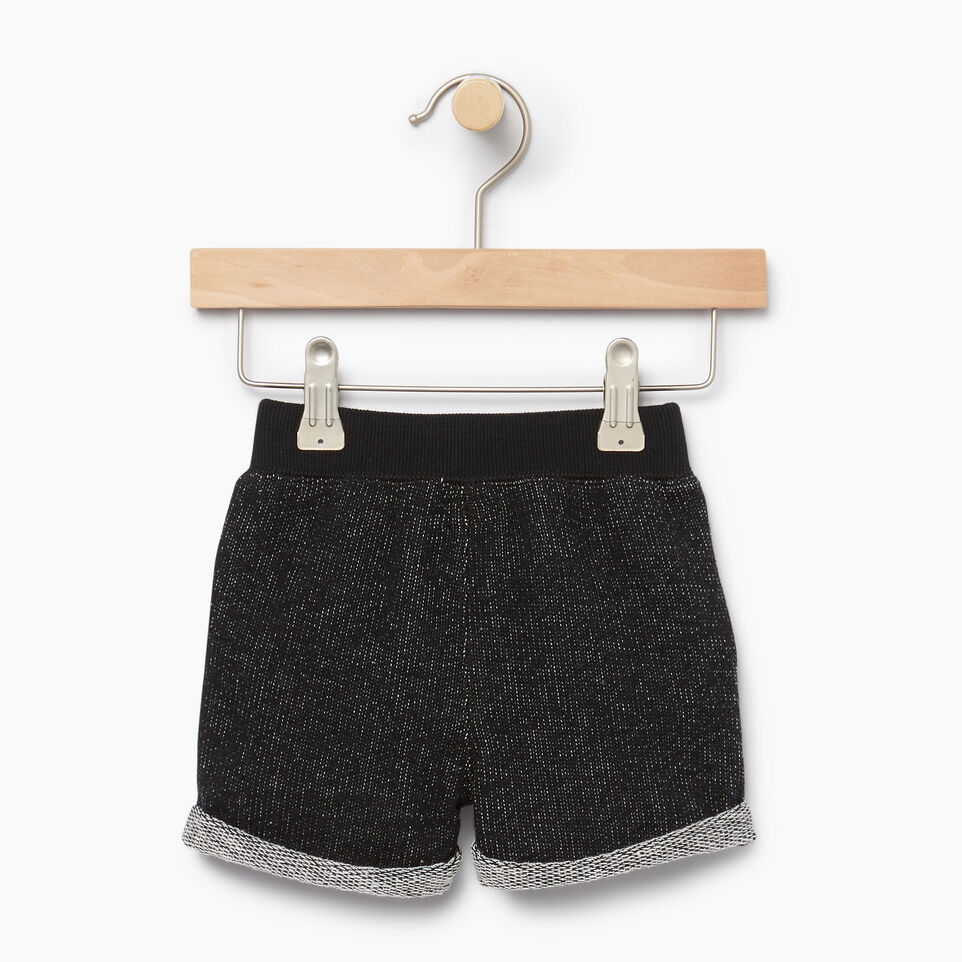 Roots-Kids Our Favourite New Arrivals-Baby Park Short-Black Pepper-B