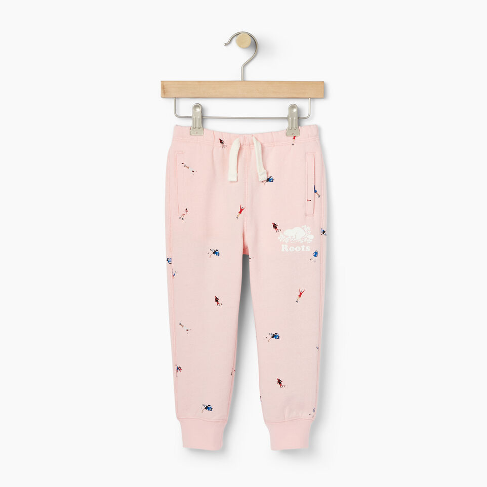 Roots-Kids Our Favourite New Arrivals-Toddler Skater AOP Sweatpant-Light Pink-A