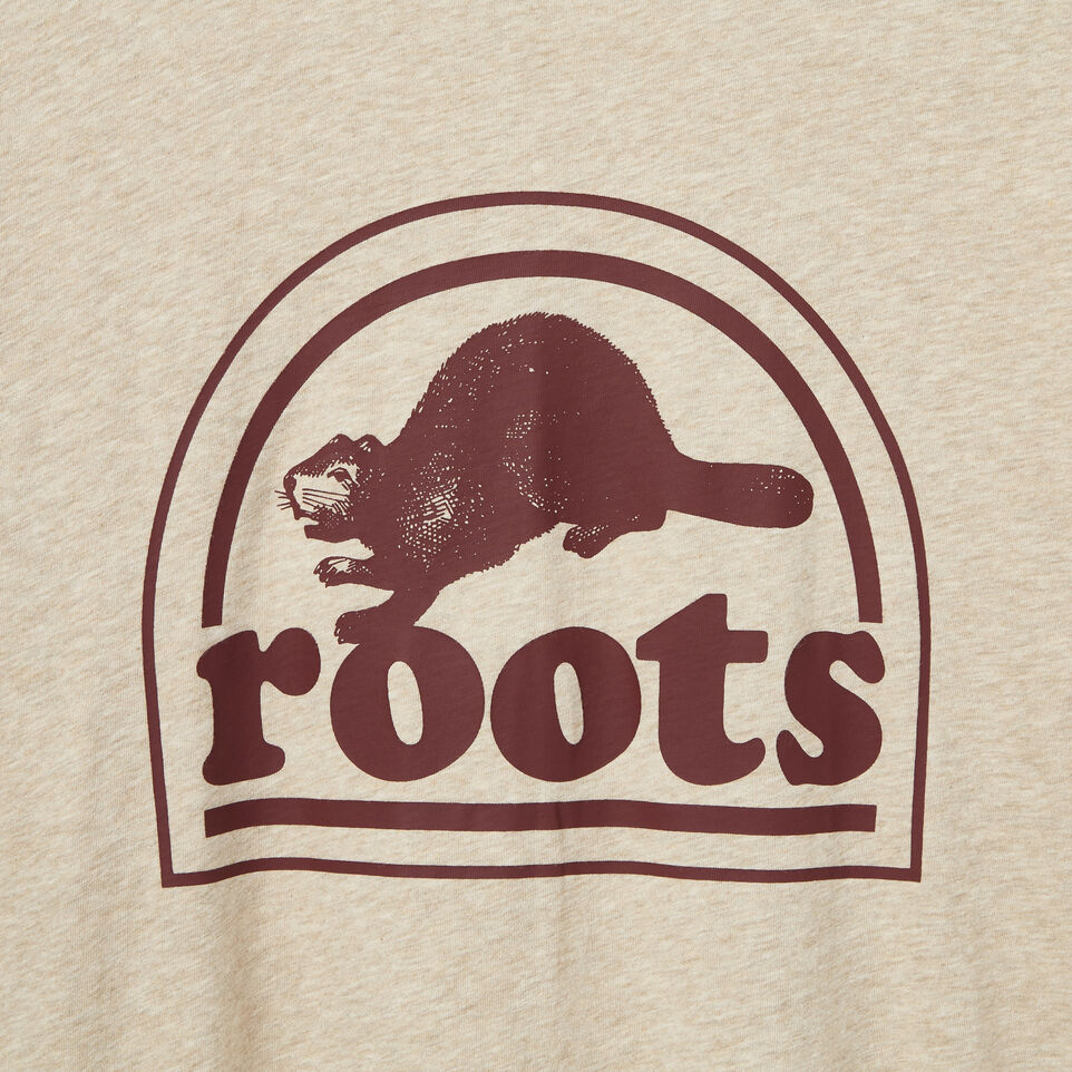Roots-undefined-Mens O.G Natural Footwear T-shirt-undefined-D