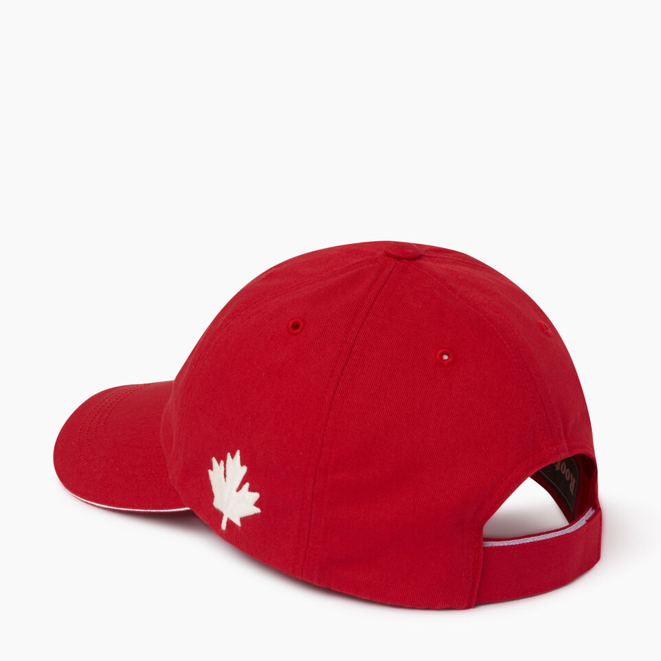 Roots-Men Our Favourite New Arrivals-Canada Baseball Cap-Red-C