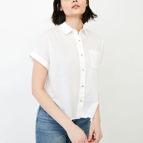 Roots-Women Our Favourite New Arrivals-Alder Flat Shirt-White-A