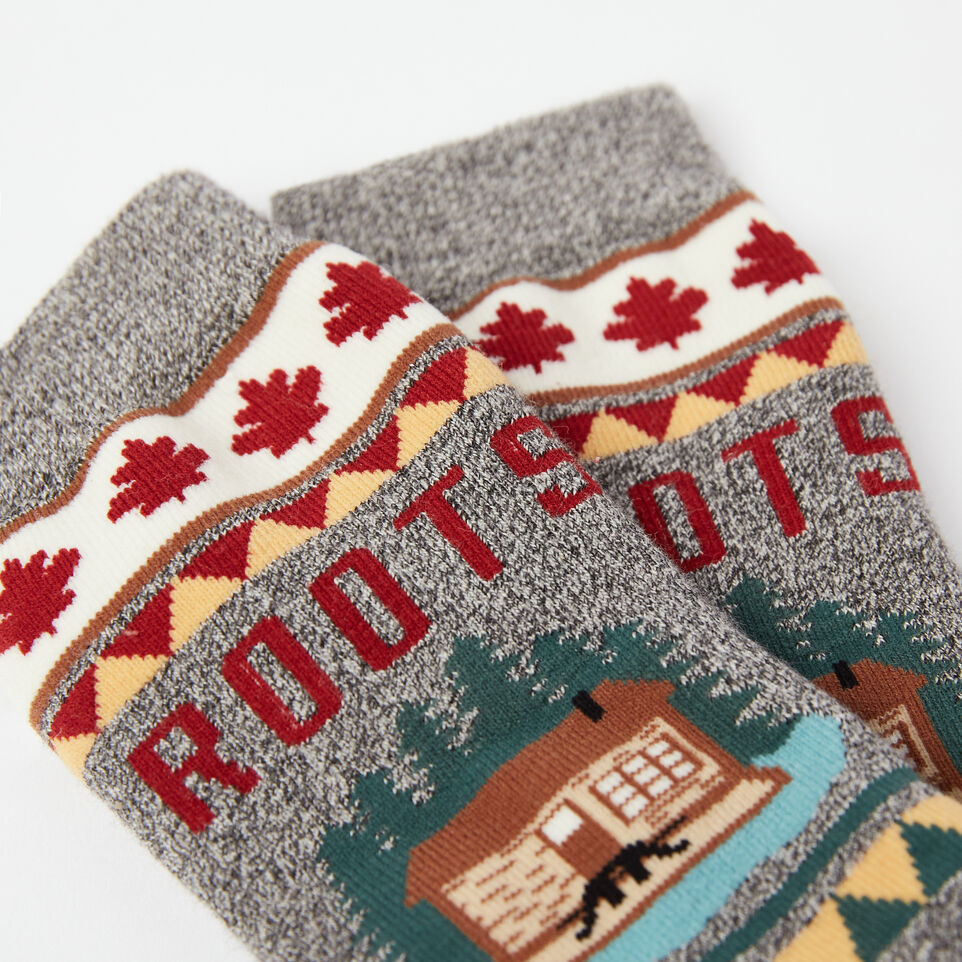 Roots-undefined-Womens Canada Boot Sock-undefined-C