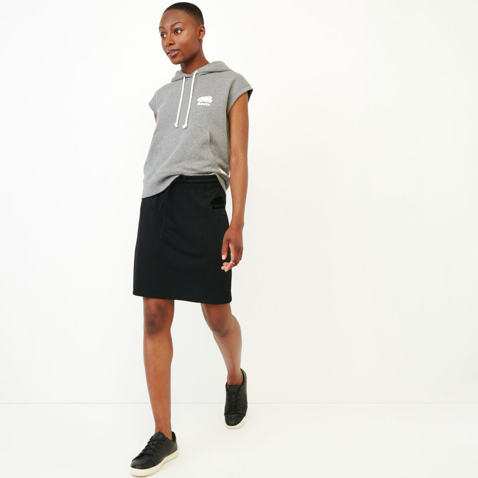 Roots-Women Our Favourite New Arrivals-Summerside Skirt-Black-B
