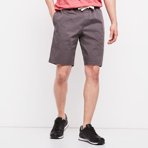 Roots-Men Shorts-Sideline Twill Short-Pavement-A