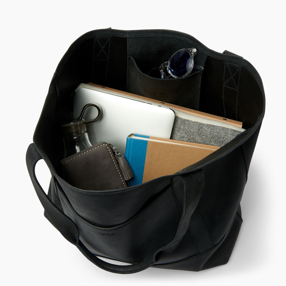 Roots-New For July Daily Offer-Muskoka Tote-Jet Black-D