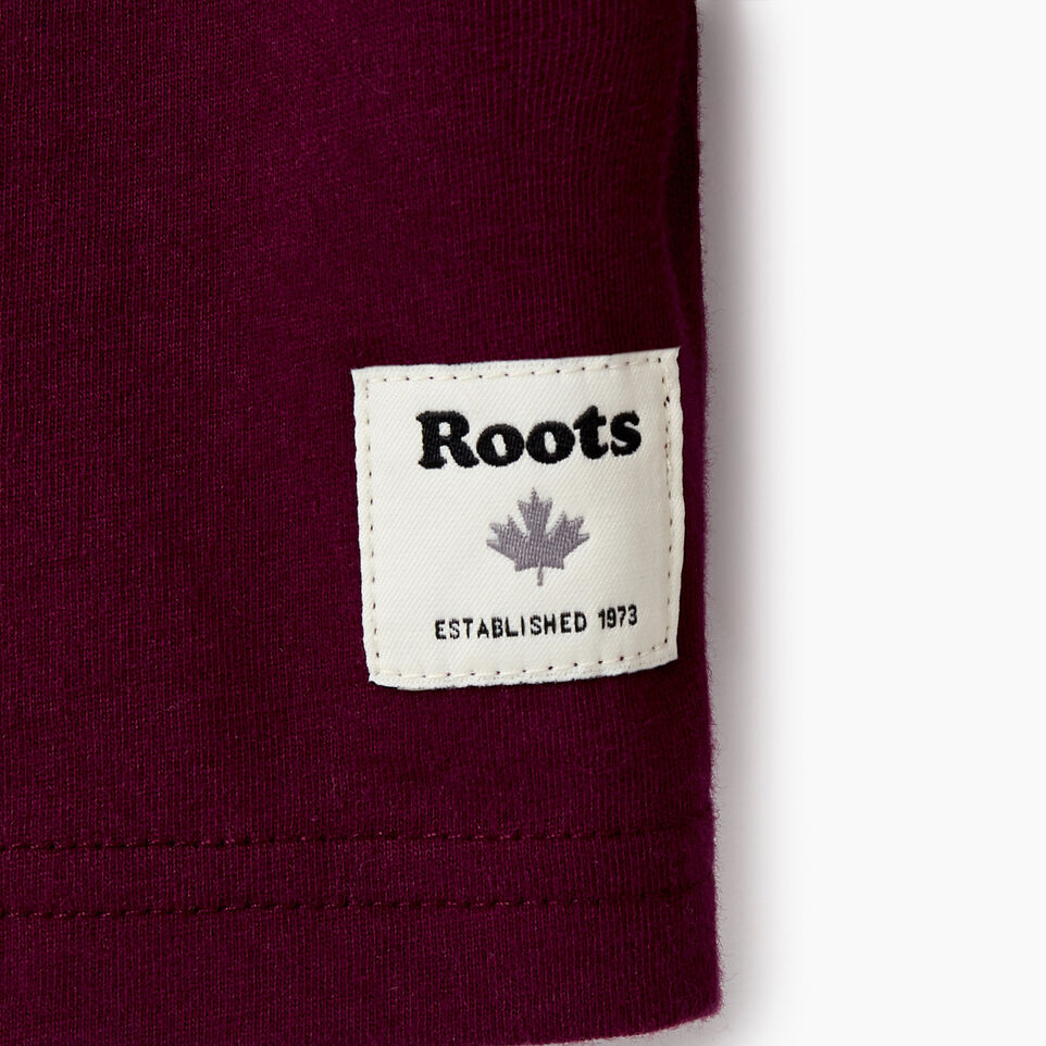 Roots-Kids Our Favourite New Arrivals-Girls Original Cooper Beaver T-shirt-Pickled Beet-D