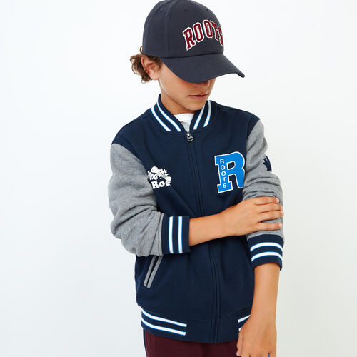 Roots-Kids Our Favourite New Arrivals-Boys 2.0 Awards Jacket-Navy Blazer-A