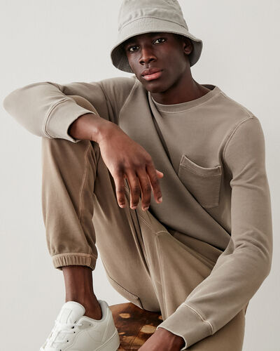 Roots-New For This Month Roots Organics-Organic Crew Sweatshirt-Rennet-A