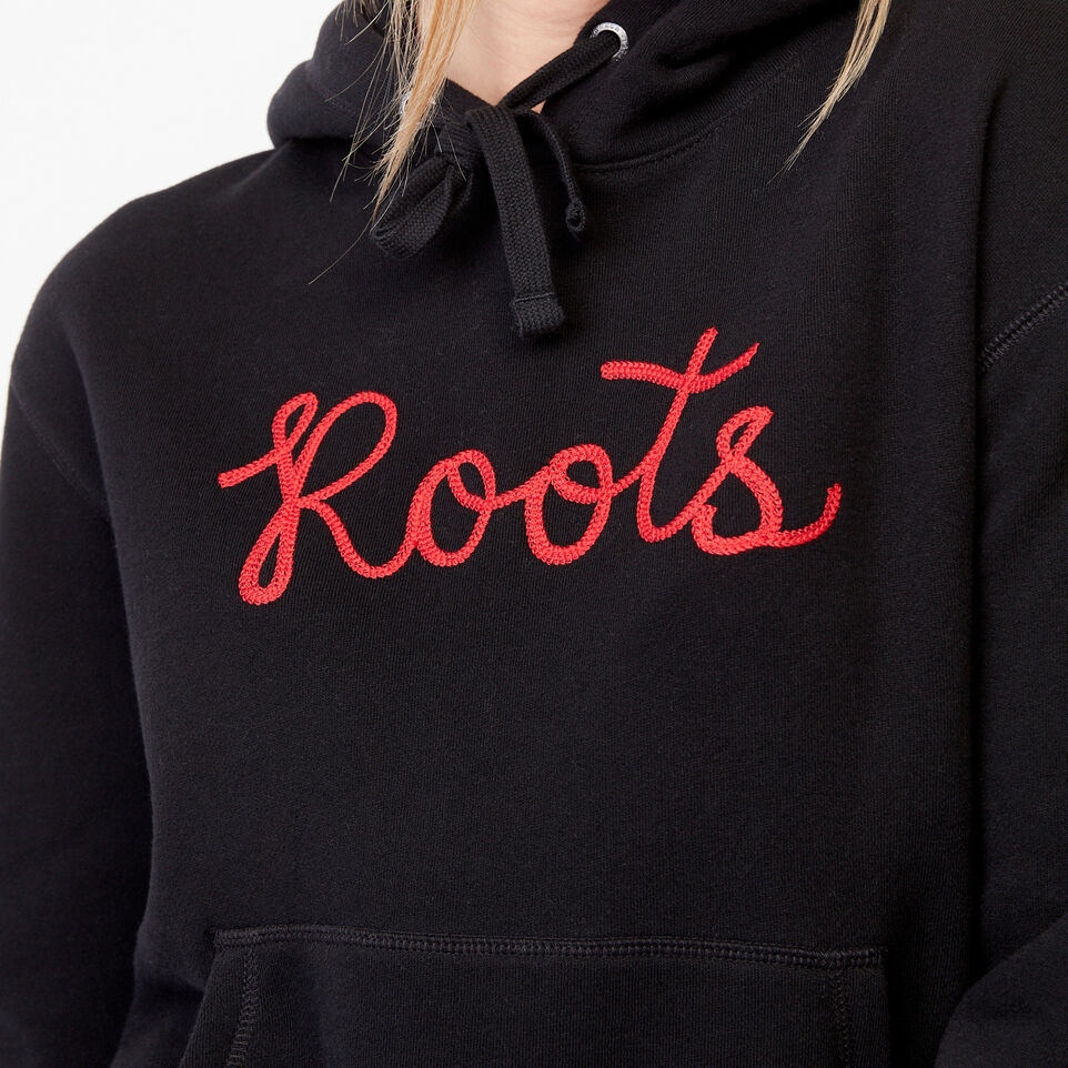 Roots-Clearance Women-Mabou Hoody-Black-D