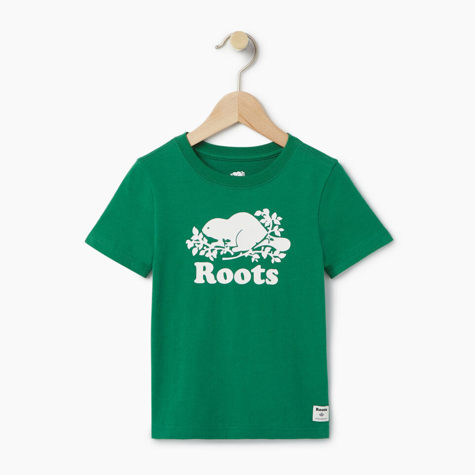Roots-undefined-Toddler Original Cooper Beaver T-shirt-undefined-A