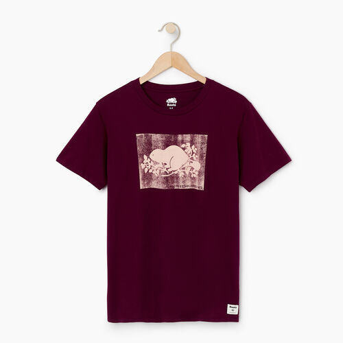 Roots-Women Our Favourite New Arrivals-Womens Boyfriend Cooper Box T-shirt-Pickled Beet-A