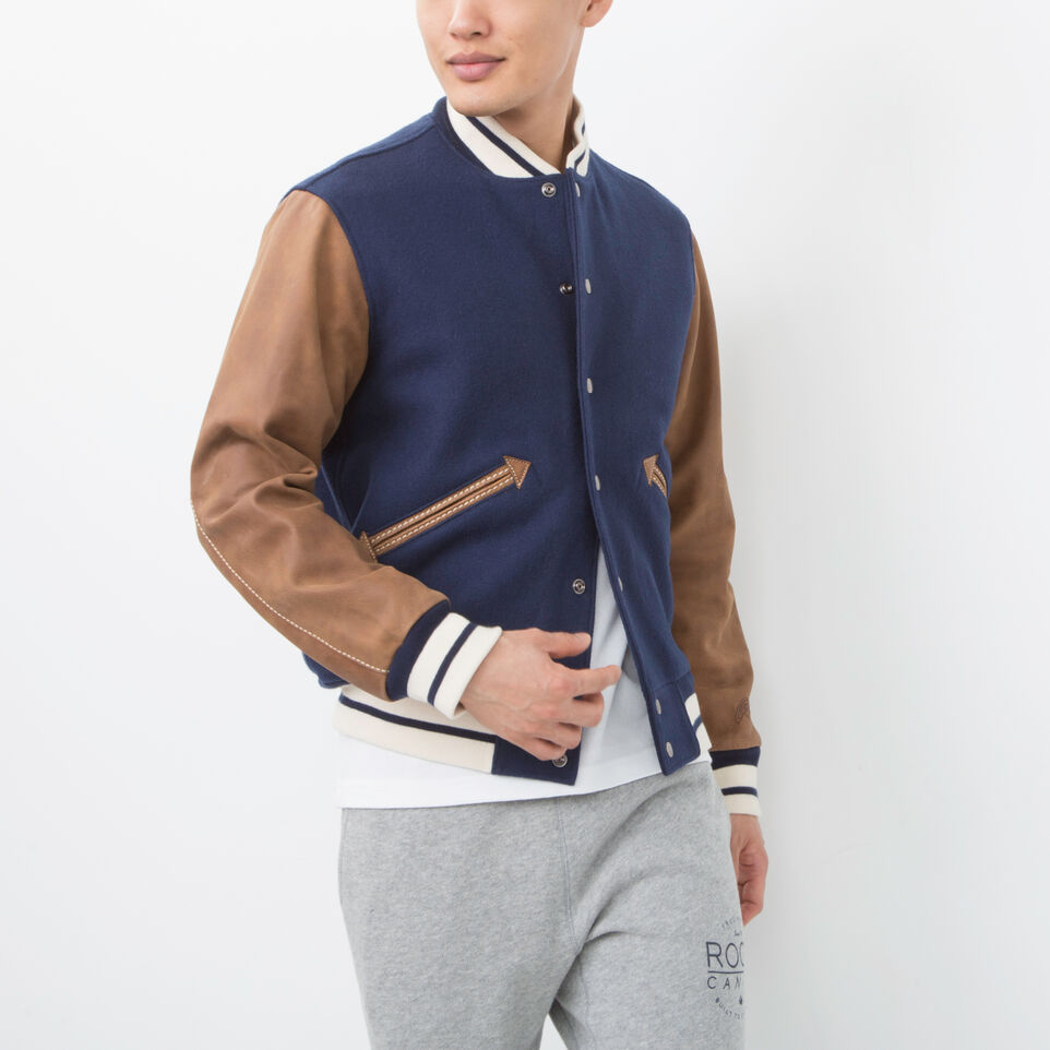 Roots-undefined-Mens Varsity Jacket Tribe-undefined-A
