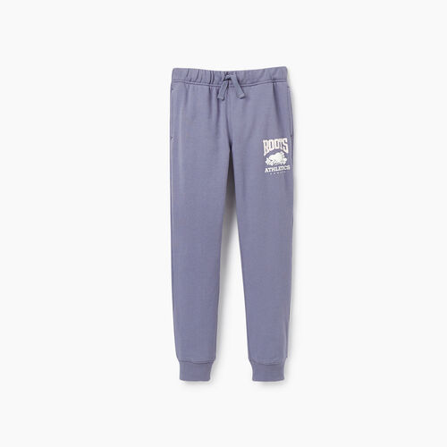 Roots-New For March Rba Collection-Girls RBA Slim Cuff Sweatpant-Purple-A