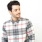 Roots-Men Clothing-Smoke Lake Shirt-Birch White-E